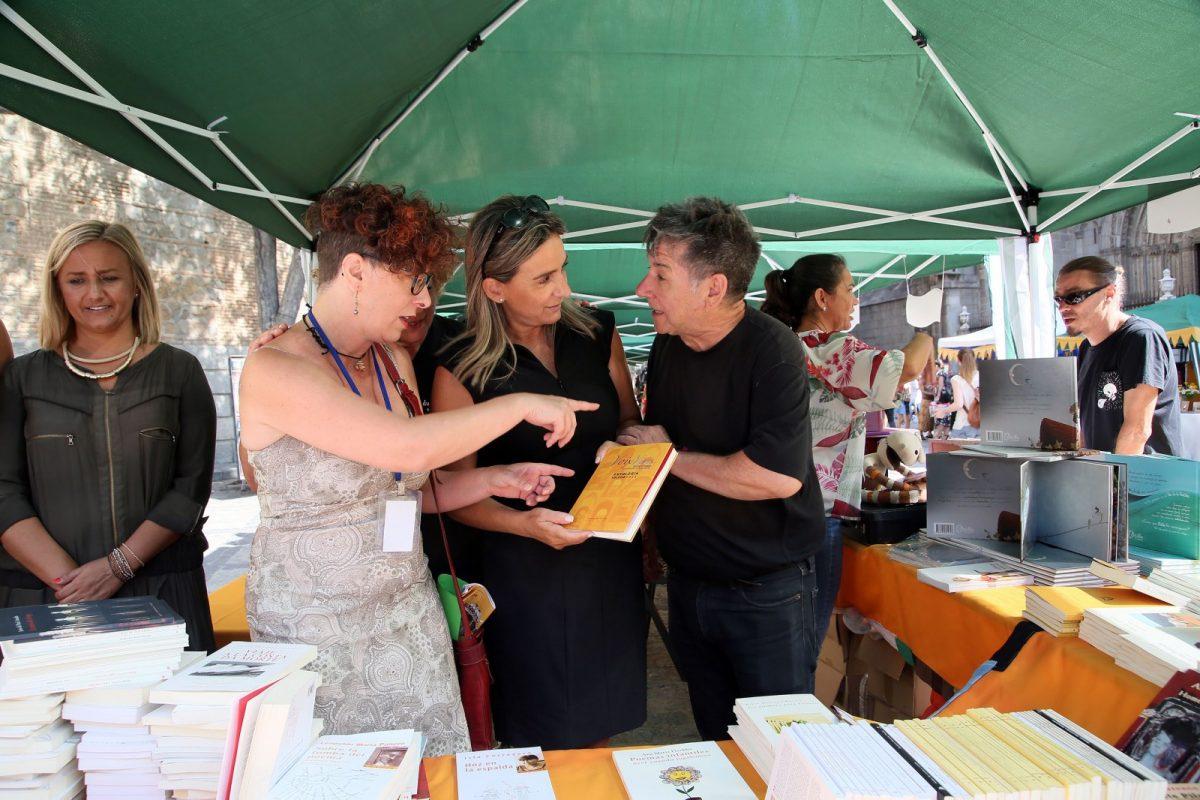 """https://www.toledo.es/wp-content/uploads/2018/08/12_voix_vives-1200x800.jpg. El Septiembre Cultural arranca con el Festival Voix Vives que """"viste a Toledo de poesía y cultura"""" con 26 poetas de 16 países"""