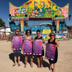 l Consistorio pone en marcha en la Feria, por segundo año, la campaña 'Por unas fiestas sin agresiones sexuales'