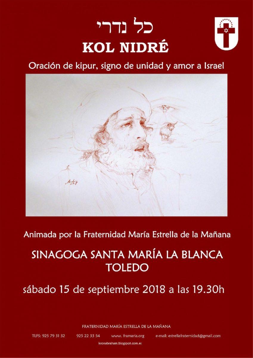 https://www.toledo.es/wp-content/uploads/2018/08/cartel-kipur-d4-pdf-2018-001-849x1200.jpg. VIGILIA DE YOM KIPUR