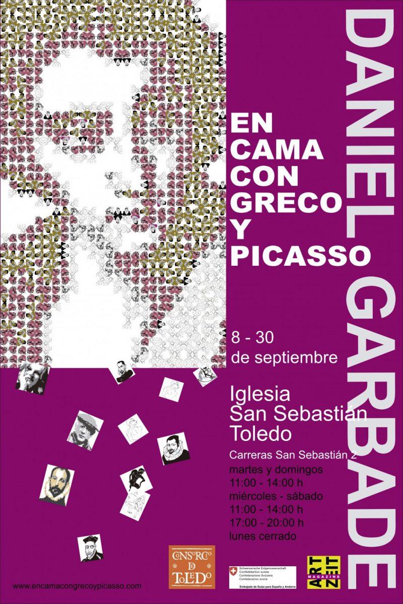 https://www.toledo.es/wp-content/uploads/2018/08/cartel-san-sebastian-garbade-en-cama-grande-800x1200.jpg. Inauguración Exposición del artista DANIEL GARBADE