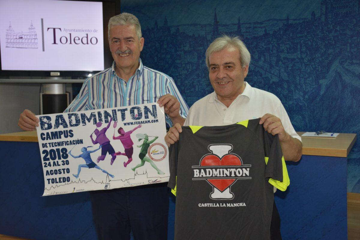 Toledo acoge del 24 al 30 de agosto el Campus de Tecnificación de Bádminton en que participarán figuras como Pablo y Javier Abián