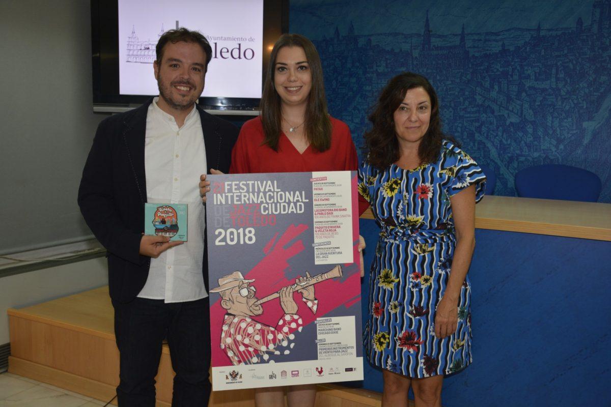 El XXI Festival de Jazz de Toledo incluirá un concierto histórico de la estrella mundial del jazz latino Paquito D´Rivera