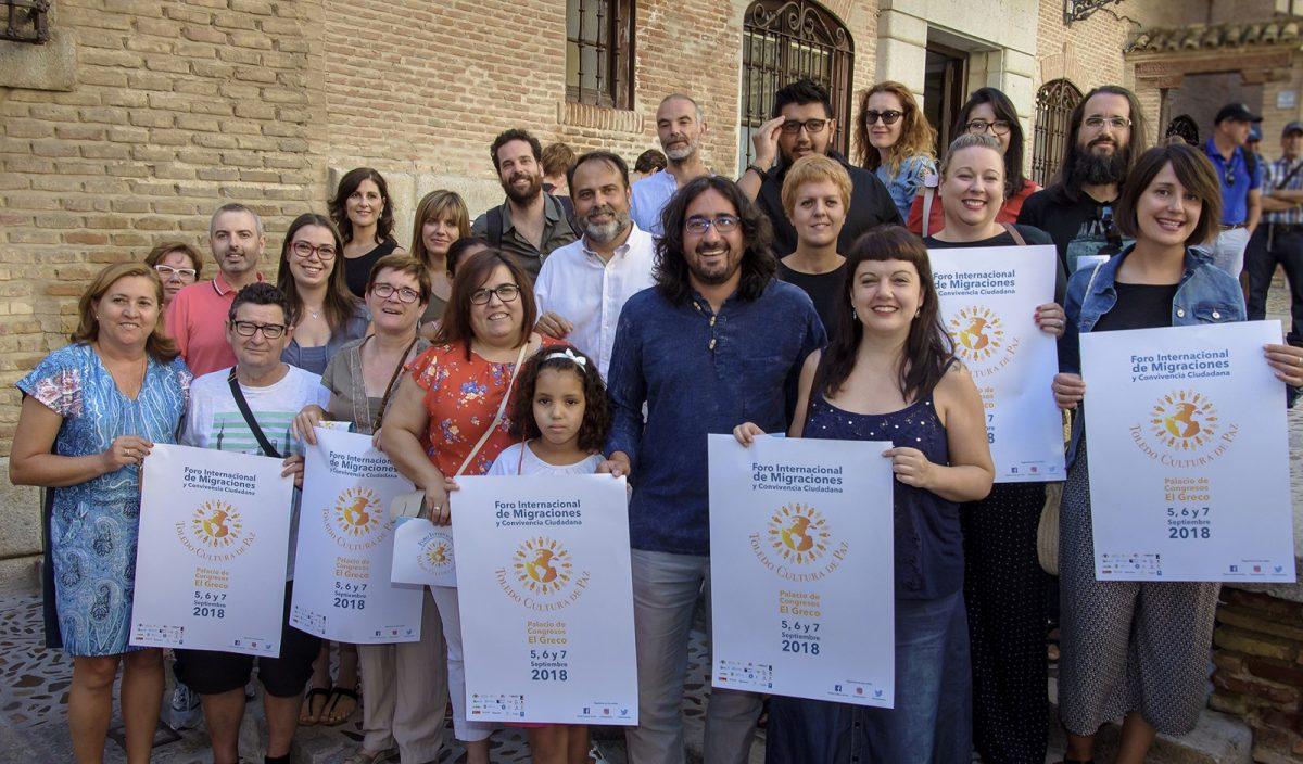 http://www.toledo.es/wp-content/uploads/2018/08/jp2_6778-1200x704.jpg. El I Foro 'Toledo Cultura de Paz' mantiene abiertas las inscripciones para participar y avanza el nombre de los premiados
