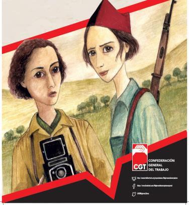 """Exposición """"Mujeres en el anarquismo español """""""