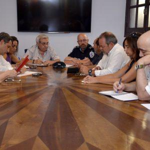 El Consejo de Participación del Casco Histórico aborda la movilidad en el entorno de la Puerta del Cambrón