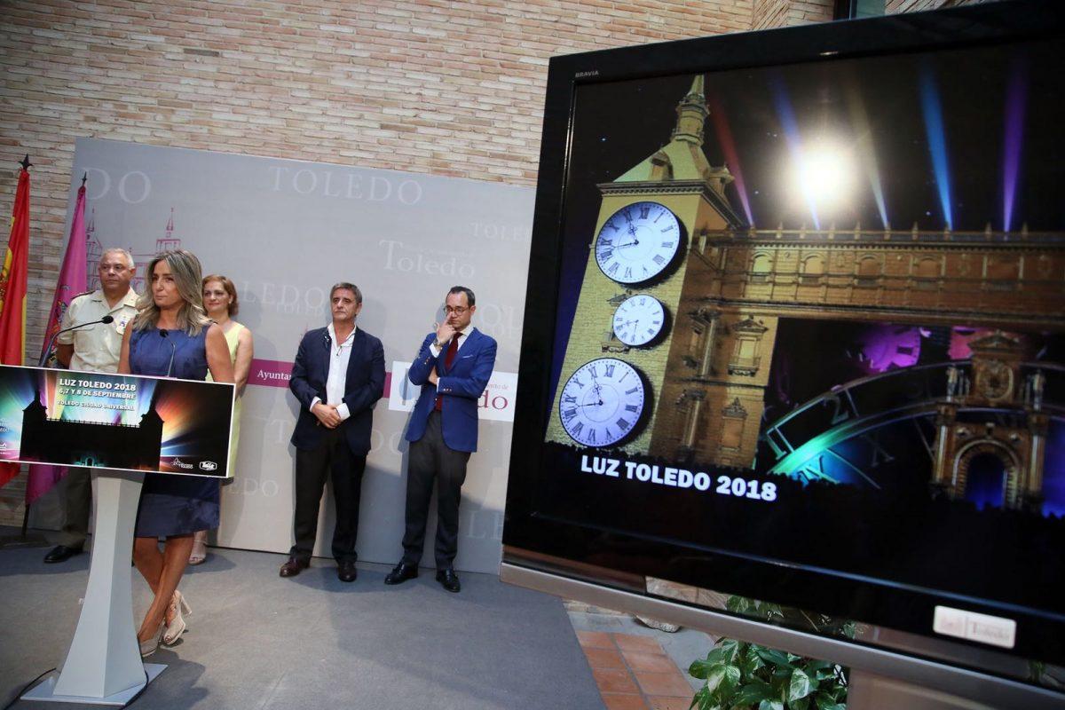 http://www.toledo.es/wp-content/uploads/2018/08/whatsapp-image-2018-08-29-at-12.14.37-1-1200x800.jpeg. Milagros Tolón destaca el Alcázar como espacio inédito para 'Luz Toledo' con la pantalla de mayor dimensión en la historia del evento