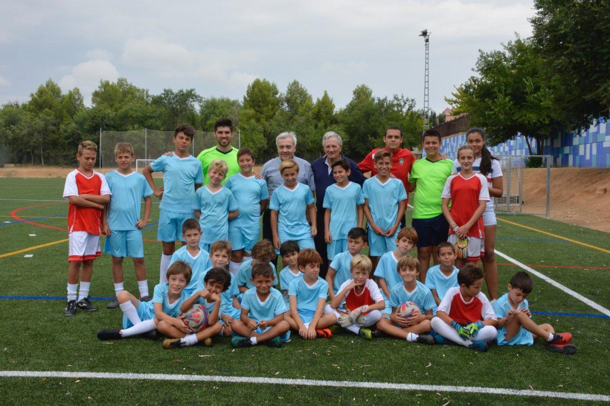El Gobierno asiste a la clausura del Campus Infantil de Fútbol Base 'Ciudad de Toledo' por el que han pasado 150 niños este verano
