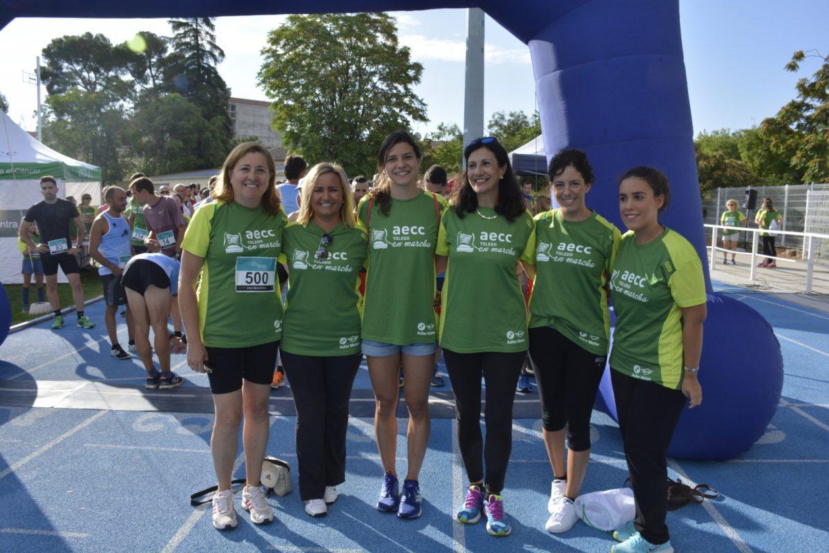 Toledo corre contra el cáncer en la III Carrera y Marcha de la AECC para fomentar la investigación y la prevención de la enfermedad