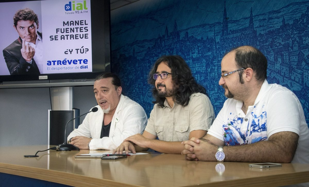 http://www.toledo.es/wp-content/uploads/2018/09/01-presentacion-atrevete-1200x725.jpg. El Ayuntamiento ofrece a los jóvenes la oportunidad de asistir a la grabación del programa de radio 'Atrévete' de Cadena Dial