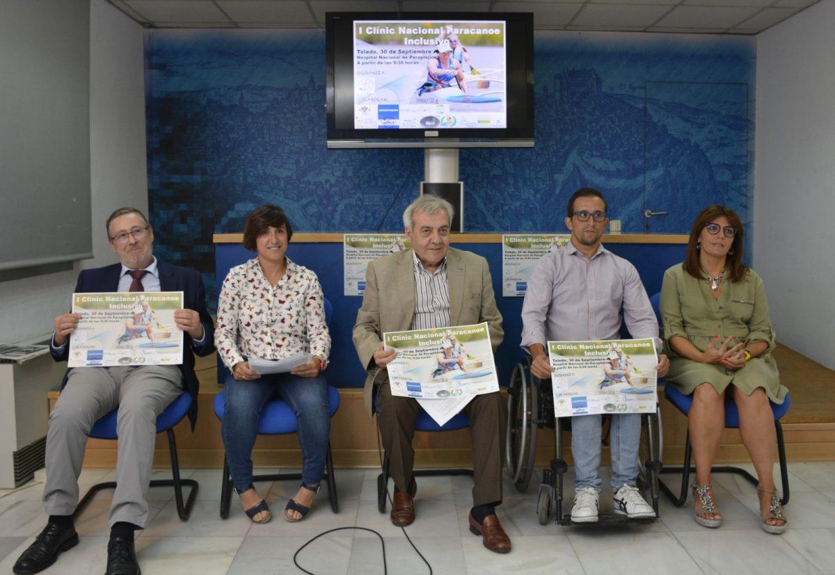 Toledo acoge el domingo el I Clinic Paracanoe Inclusivo con el palista olímpico Paco Cubelos como invitado de honor