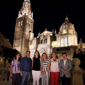 """Milagros Tolón celebra que toledanos y visitantes disfruten """"la gran Noche del Patrimonio como algo grande y único"""""""
