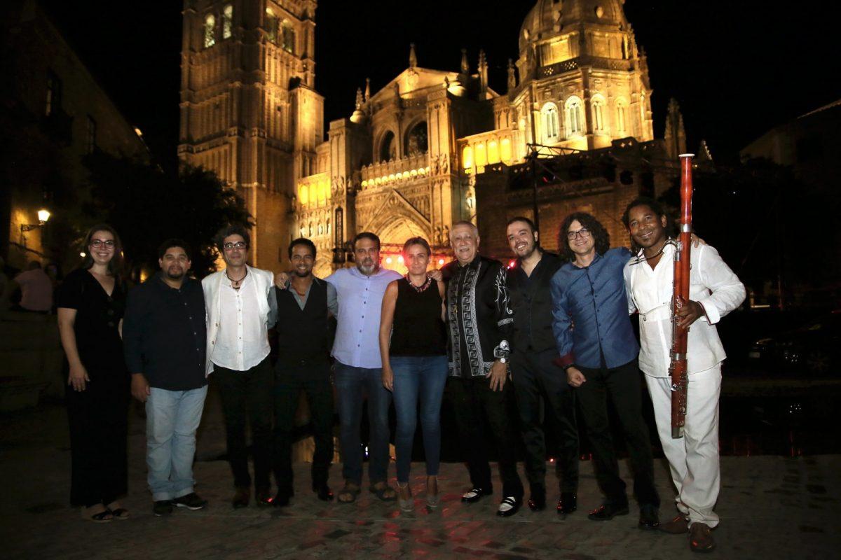 La alcaldesa asiste al concierto de Paquito D'Rivera & Veleta Roja con el que se clausura un XXI Festival de Jazz de éxito rotundo
