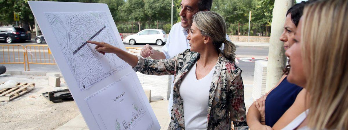 La alcaldesa destaca la inversión de casi…