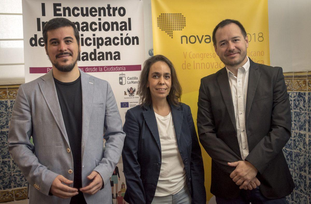 http://www.toledo.es/wp-content/uploads/2018/09/04-presentacion-congreso-novagob-1200x785.jpg. Toledo, sede del V Congreso Iberoamericano de Innovación Pública y del I Encuentro Internacional de Participación Ciudadana