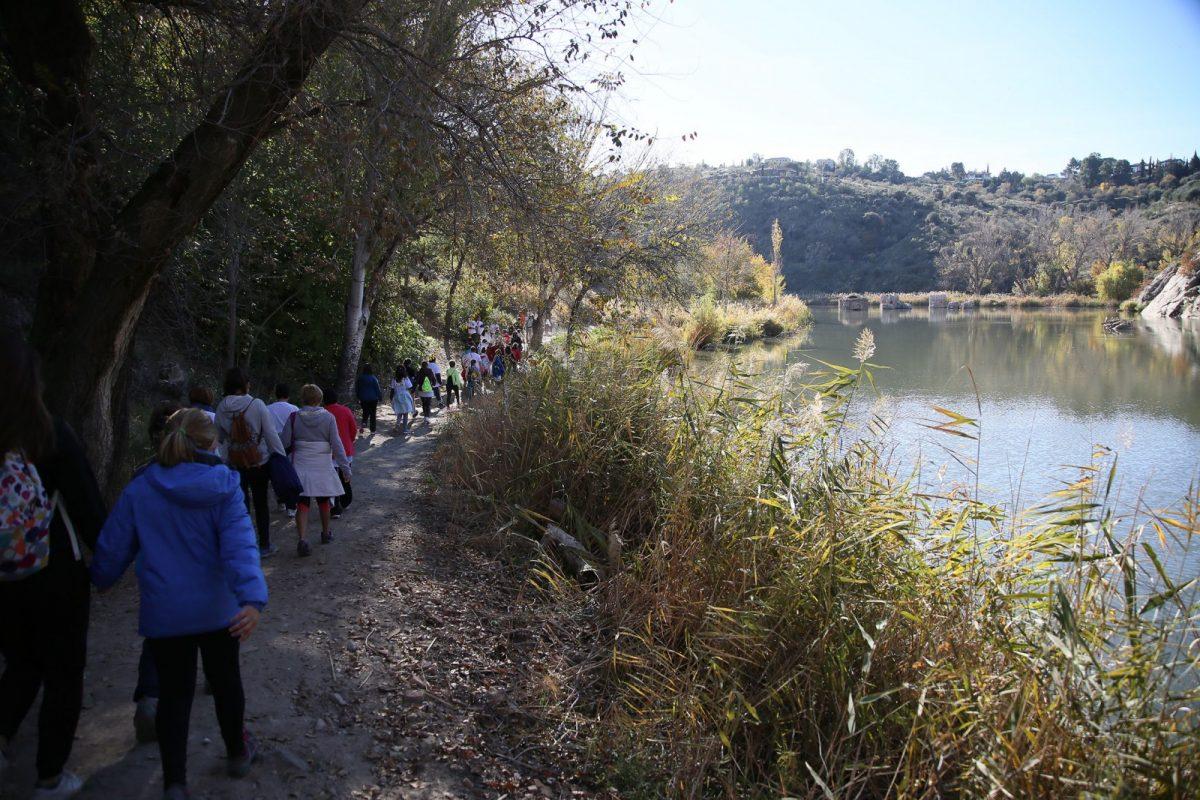 Milagros Tolón anuncia la instalación de un circuito de gimnasia en la Senda Ecológica del Tajo