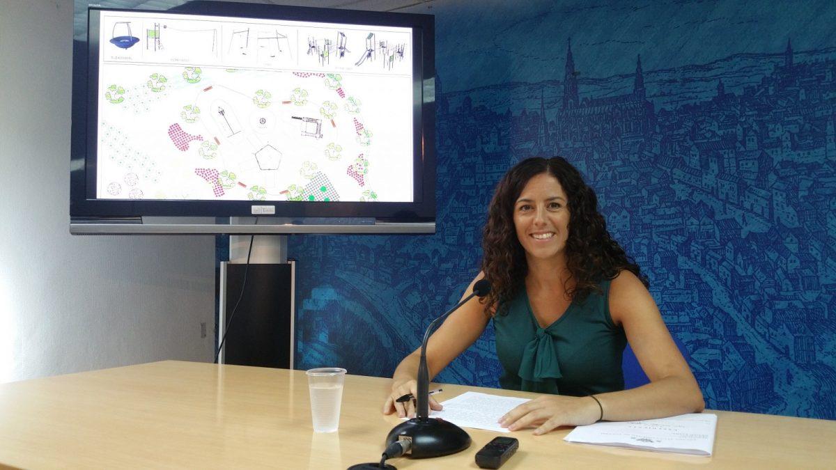 http://www.toledo.es/wp-content/uploads/2018/09/20180910_114100-1200x675.jpg. El Ayuntamiento construirá un nuevo parque infantil inclusivo con zona verde en La Legua al que destinará cerca de 70.000 euros