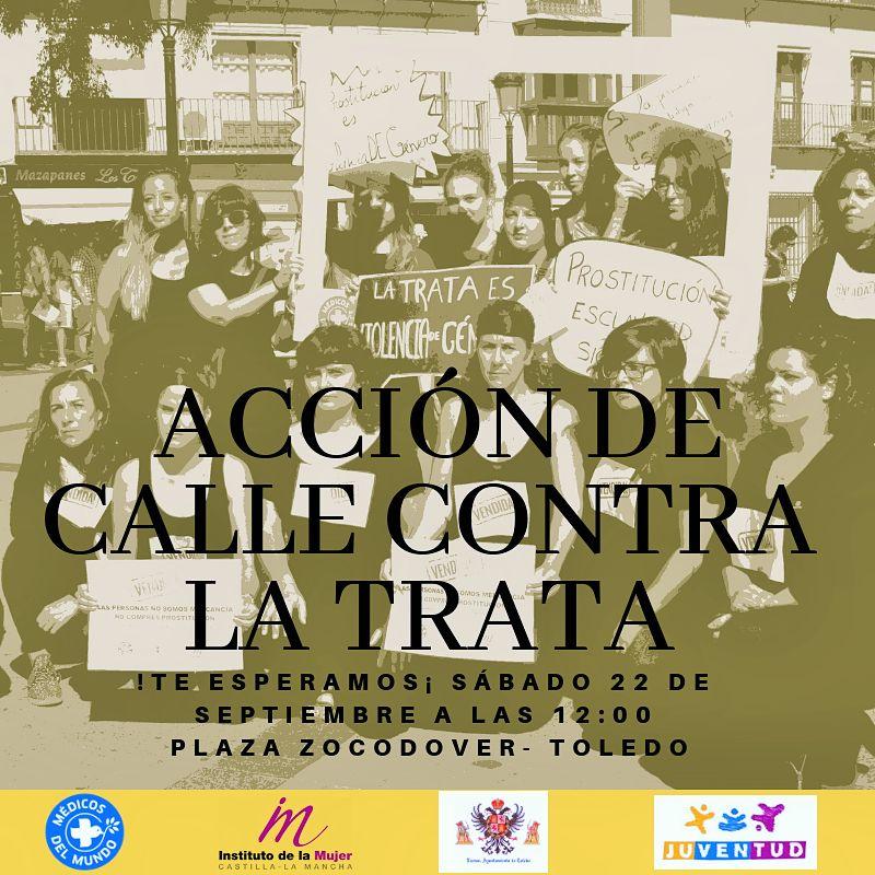 http://www.toledo.es/wp-content/uploads/2018/09/accion-de-calle-contra-la-trata.jpg. Acción de calle contra la Trata