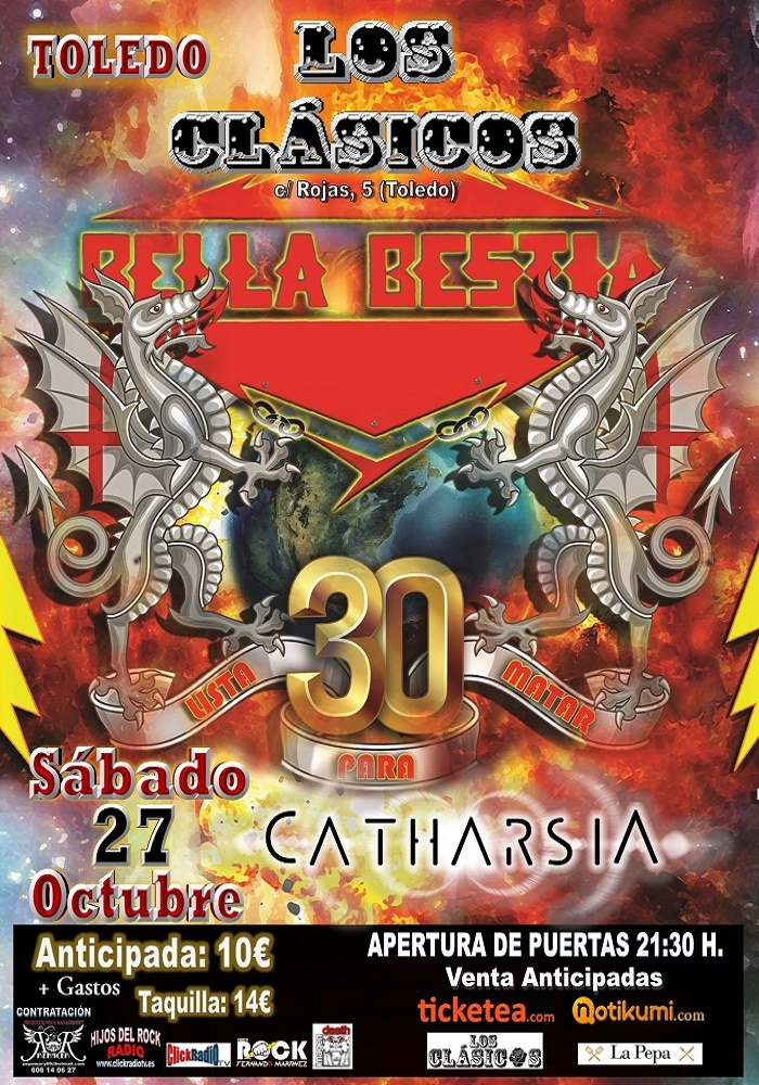 http://www.toledo.es/wp-content/uploads/2018/09/bella-bestia.jpg. Bella bestia + CATHARSIA