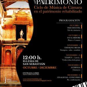 Ciclo de música y patrimonio: Audifilia