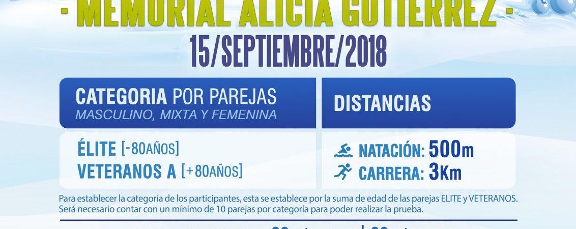 III Trofeo Acuatlón Memorial Alicia Gutiérrez