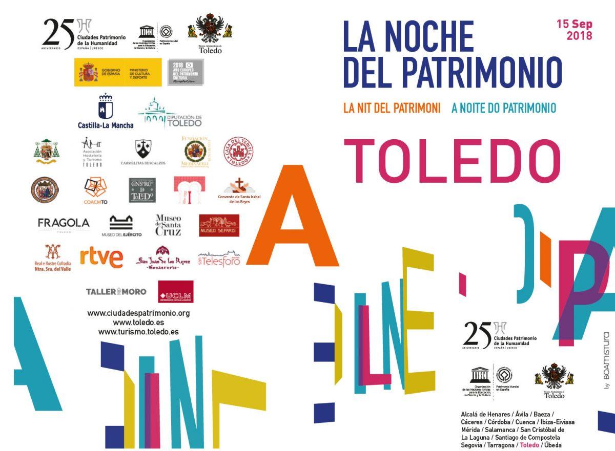 http://www.toledo.es/wp-content/uploads/2018/09/cartel_tv-1200x881.jpg. Programación completa de La Noche del Patrimonio