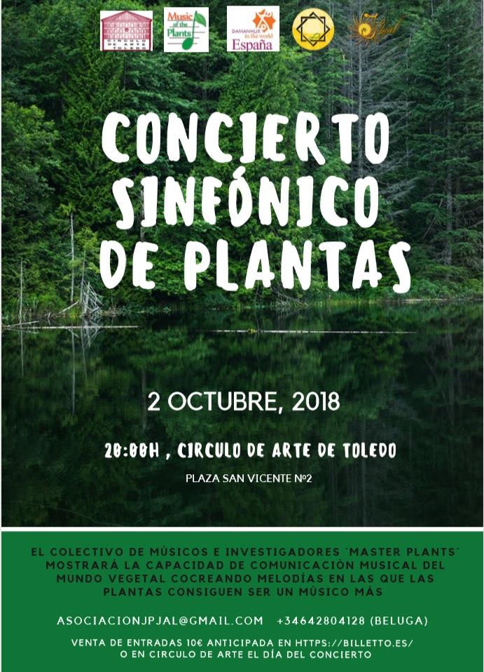 Concierto Sinfónico de las Plantas