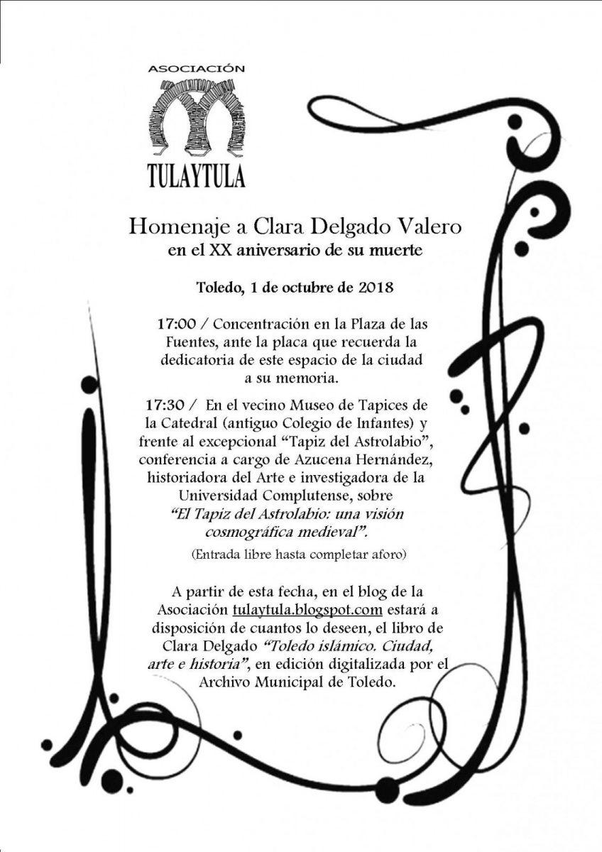 Homenaje a Clara Delgado
