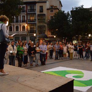 El Ayuntamiento respalda el Día Internacional de la Prevención del Suicidio y asiste a los actos de la ONG Teléfono de la Esperanza