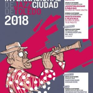 ARTEL ANUNCIADOR PROGRAMA XXI FESTIVAL INTERNACIONAL DE JAZZ CIUDAD DE TOLEDO