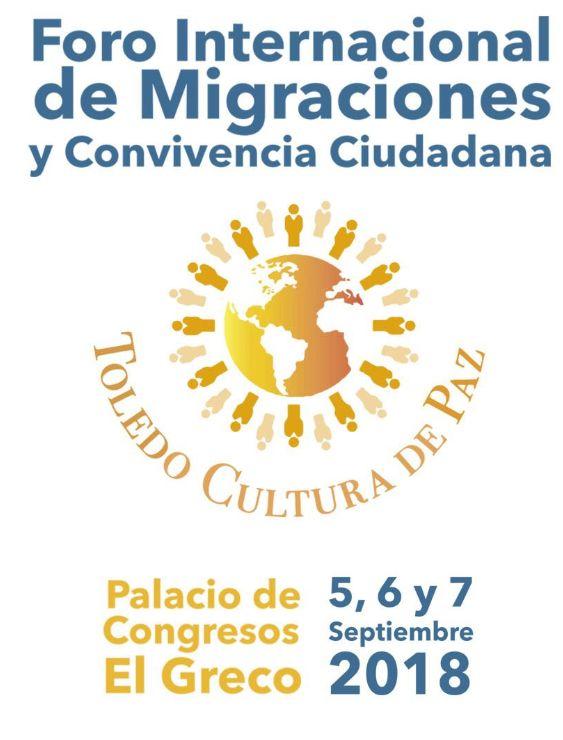 http://www.toledo.es/wp-content/uploads/2018/09/foro.jpg. I FORO INTERNACIONAL DE MIGRACIONES Y CONVIVENCIA CIUDADANA