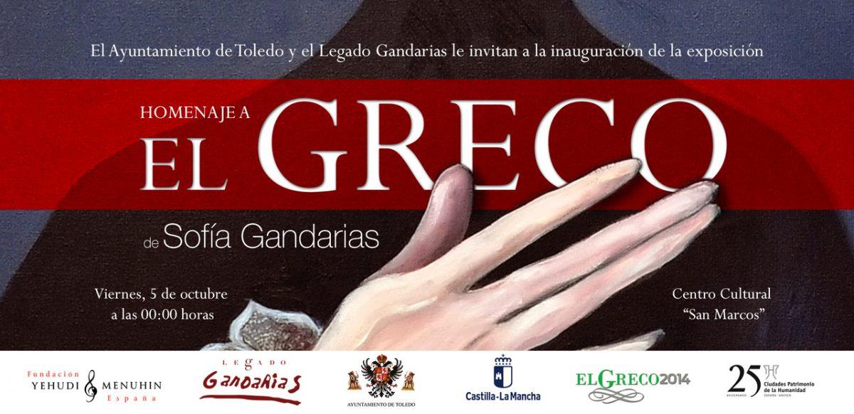 http://www.toledo.es/wp-content/uploads/2018/09/greco-1200x582.jpeg. Exposición Homenaje al Greco, de Sofía Gandarias