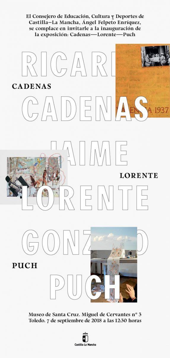 "Exposición ""Cadenas-Lorente-Puch"""