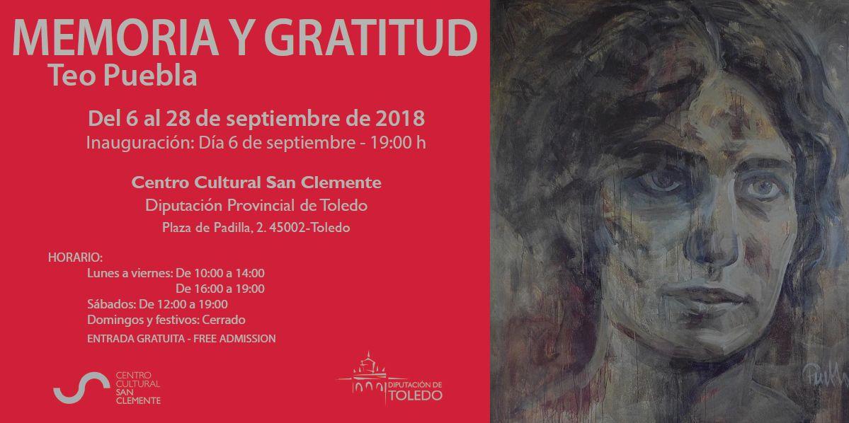 http://www.toledo.es/wp-content/uploads/2018/09/invitacion.jpg. Inauguración Exposición Memoria y gratitud