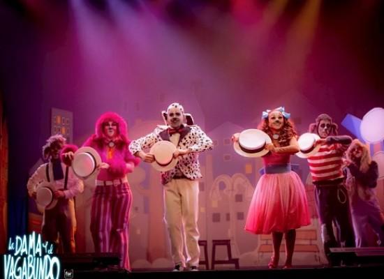 Ciclo de Teatro y Danza en Familia: La dama y el vagabundo. El musical