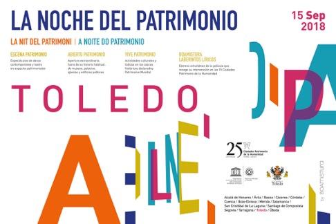 http://www.toledo.es/wp-content/uploads/2018/09/la-noche-del-patrimonio.jpg. La Noche del Patrimonio
