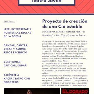 Matadero Cía-Teatro joven.