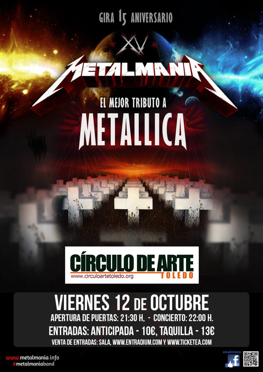 https://www.toledo.es/wp-content/uploads/2018/09/metalmania-circulo-de-arte-848x1200.jpg. METALMANIA. TRIBUTO A METALICA.