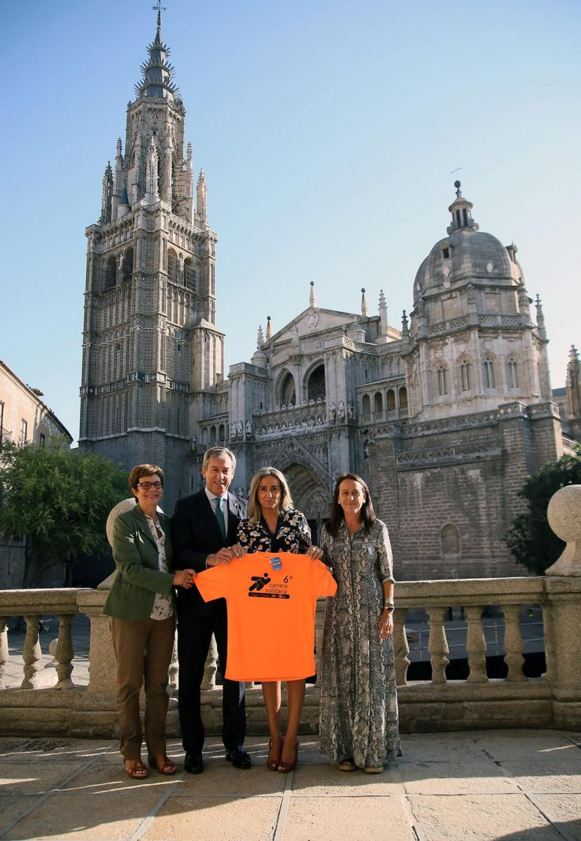 http://www.toledo.es/wp-content/uploads/2018/09/milagros-tolon_camiseta-afaem-830x1200.jpeg. El Ayuntamiento se une a la VI Carrera Solidaria 'Fundación Eurocaja Rural-Grupo Tello' a favor de AFAEM Despertar