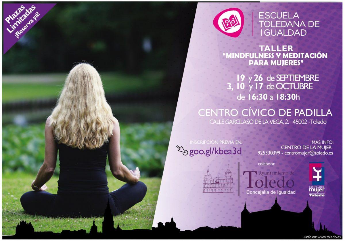 "http://www.toledo.es/wp-content/uploads/2018/09/mindfulness-01-001-1200x836.jpg. ESCUELA TOLEDANA DE IGUALDAD. "" TALLER MINDFULNESS Y MEDITACIÓN PARA MUJERES"""
