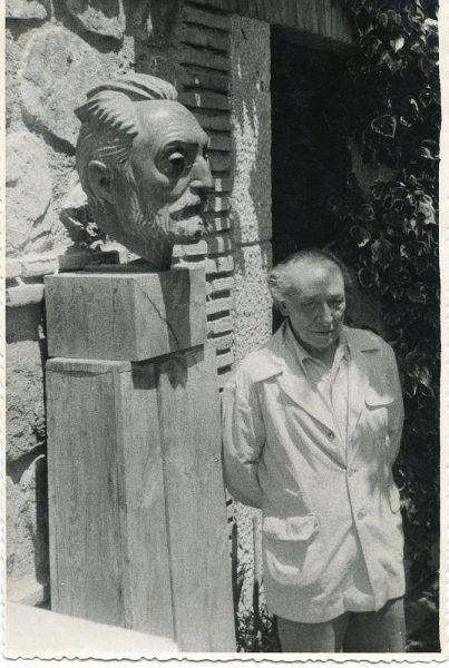 MMH-001-Retrato de Victorio Macho_ca 1960 - Fot Rodríguez