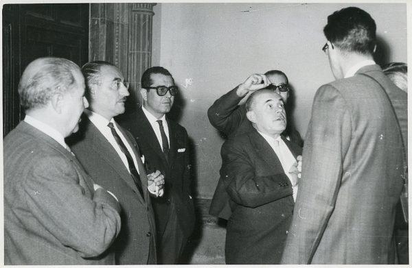 MMH-005-El Alcalde de Toledo en el I Congreso Sindical celebrado en Madrid_27-02-1961_Fot Flores