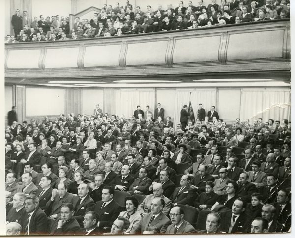 MMH-006-I Congreso Sindical celebrado en Madrid_27-02-1961 - Fot Martín Santos Yubero
