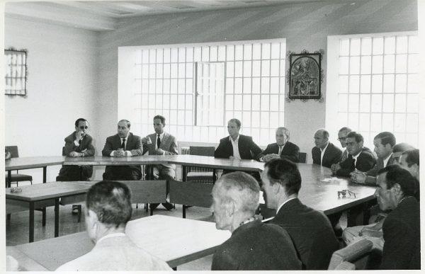 MMH-012-Acto de firma del convenio colectivo de la Construcción en el edificio de Sindicatos_1961 - Fot Flores
