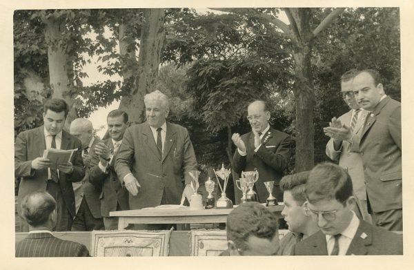 MMH-044-XI Concurso provincial de Albañilería en Paseo de Merchán_1964 - Fot Flores