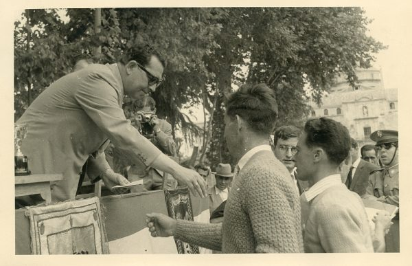 MMH-045-XI Concurso provincial de Albañilería en Paseo de Merchán_1964 - Fot Flores