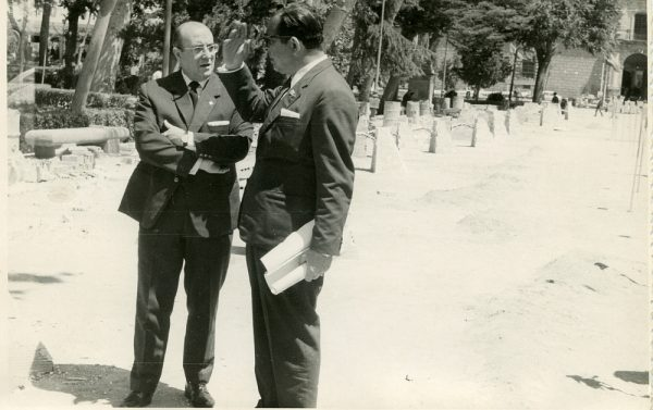 MMH-046-XIV Concurso provincial de Albañilería en Paseo de Merchán_1967 - Fot Flores