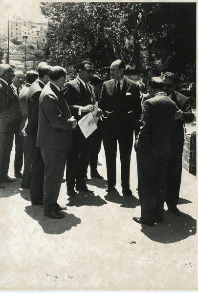 MMH-049-XVI Concurso provincial de Albañilería en Paseo de Merchán_1969