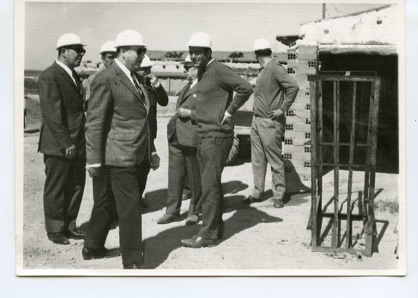 MMH-050-Visita a Toledo de Santiago Álvarez, Presidente nacional de Trabajadores_Mayo de 1969