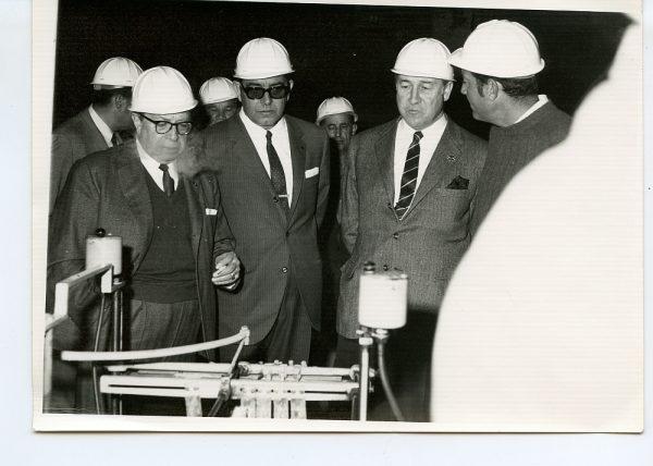 MMH-051-Visita a Toledo de Santiago Álvarez, Presidente nacional de Trabajadores_Mayo de 1969