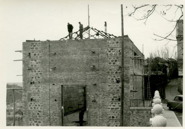 MMH-061-Construcción del Tallerón del Museo de Victorio Macho_1954